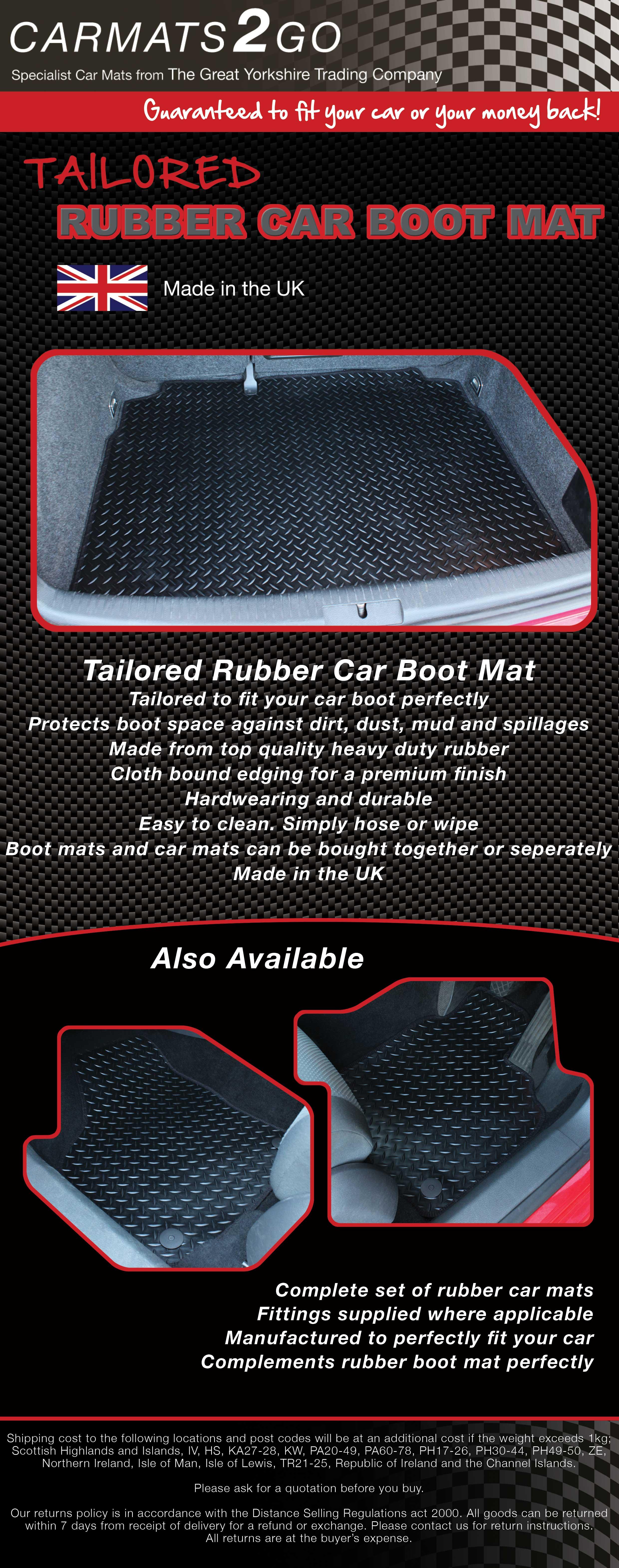 Rubber car floor mats uk - The Mat And Basket Store