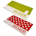HOME DESIGN PVC COIR DOORMATS