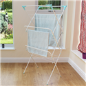 H&D 3 TIER CLOTHES AIRER - WHITE-14M