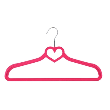 Picture of Heart Jacket Velvet Non-Slip Coat Hangers