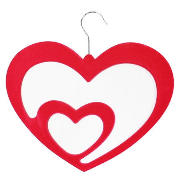 Picture of Velvet Touch Love Heart Scarf Hangers