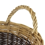 Picture of Small Two Tone Willow Log Basket