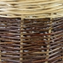Picture of Medium Two Tone Willow Log Basket