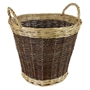 Picture of Large Two Tone Willow Log Basket