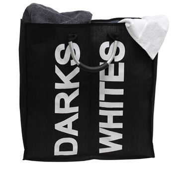 Picture of Black Double Laundry Bag