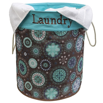 Picture of Printed Round Laundry Bag