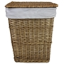 Picture of Lined Willow Laundry Basket