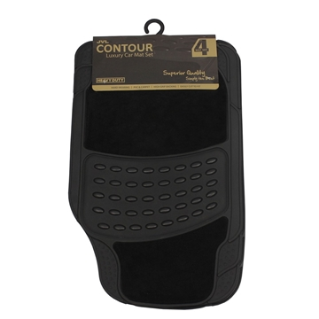 Picture of Contour - Universal 4 Piece Car Mat Set