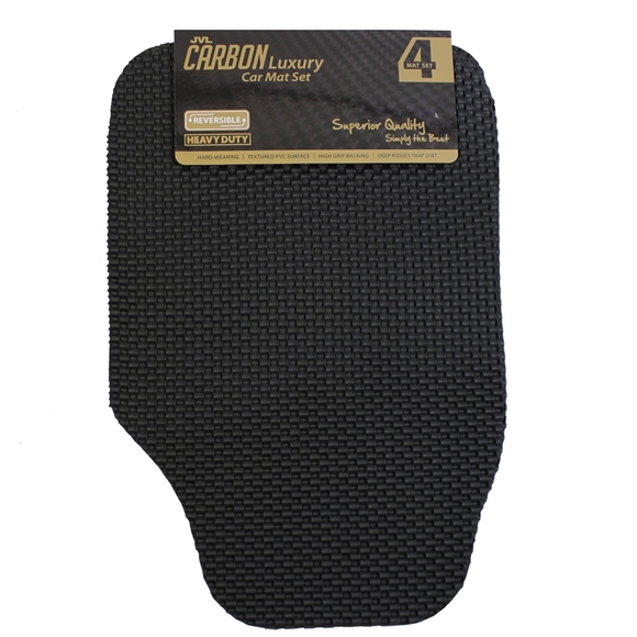 Picture of Carbon - Universal 4 Piece Car Mat Set