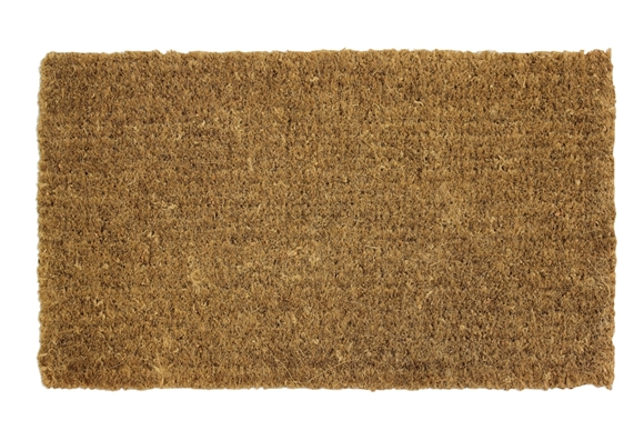 mat williams o mats sonoma doormat plain basketweave door coir rubber products