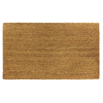 Picture of Plain Natural Latex Coir Doormat 40x70cm