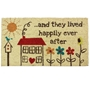 Picture of Happily Ever After PVC Coir Doormat 40x70cm