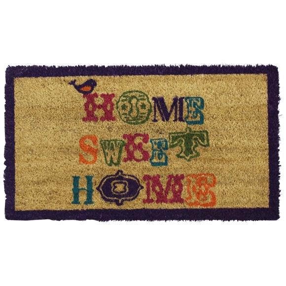 Picture of Home Sweet Home PVC Coir Doormat 40x70cm