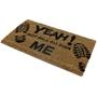 Picture of Walk All Over Me PVC Coir Doormat 40x70cm