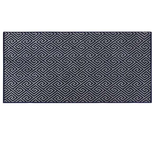 Picture of Dax Blue Pattern Rug 90x150cm