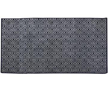 Picture of Duncan Blue Pattern Rug 90x150cm