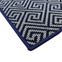 Picture of Dax Blue Pattern Rug 120x180cm