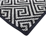 Picture of Dax Black Pattern Rug 120x180cm