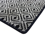 Picture of Duncan Black Pattern Rug 120x180cm