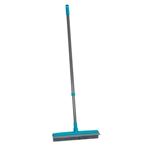 Picture of Extendable Rubber Broom - Teal