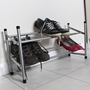 Picture of Two tier extendable shoe rack