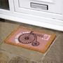 Picture of Bicycle Vintage Latex Coir Doormat 40x60cm
