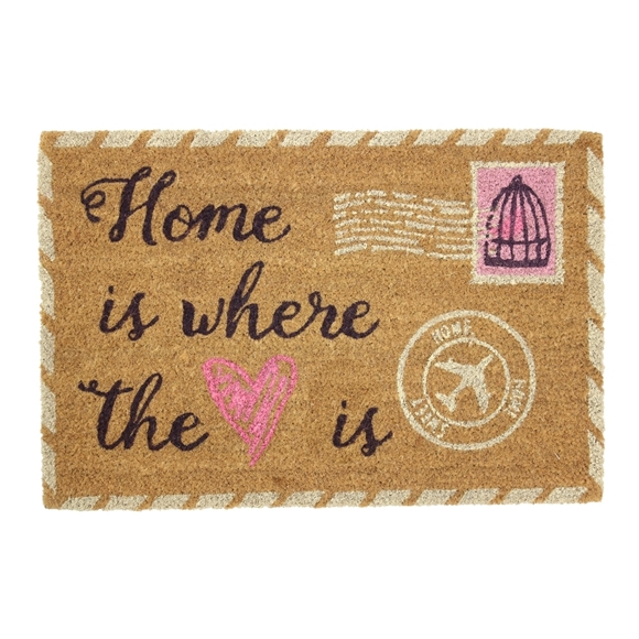Picture of Vintage Stamp Latex Coir Doormat 40x60cm