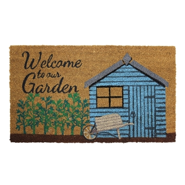 Picture of Garden Shed Latex Coir Doormat 40x70cm