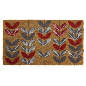 Picture of Gardening Leaf Latex Coir Doormat 40x70cm