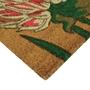Picture of Chrysanthemum Latex Coir Doormat 45x75cm