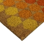 Picture of Hexagon Latex Coir Doormat 40x70cm