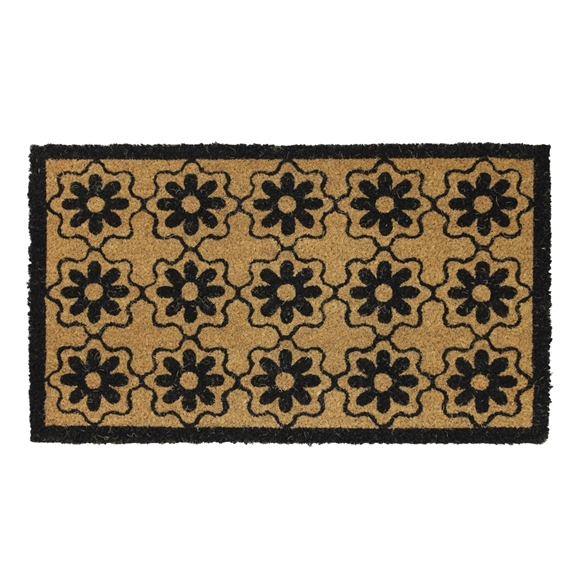 Picture of Flower Latex Coir Doormat 40x70cm