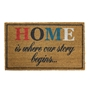 Picture of Typography Latex Coir Doormat 40x70cm