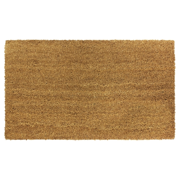 Picture of Plain Natural Latex Coir Doormat 40x60cm