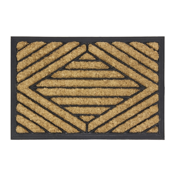 Picture of Rubber Tuffscrape Doormat 40x60cm