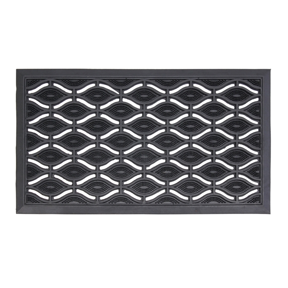 Picture of Elipses Rubber Scraper Door Mat