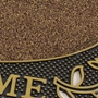 Picture of Gold Welcome Scraper Doormat 45x75cm