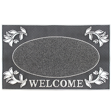 Picture of Silver Welcome Scraper Doormat 45x75cm