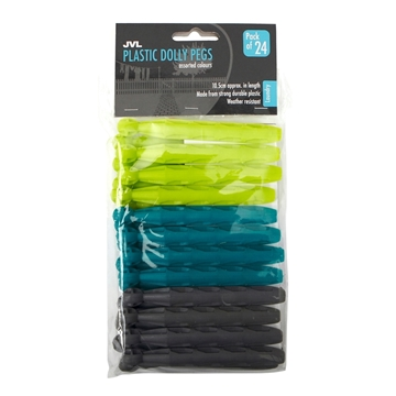 Picture of Plastic Dolly Pegs - 24 Pack