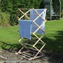 Picture of Wooden Folding Clothes Airer