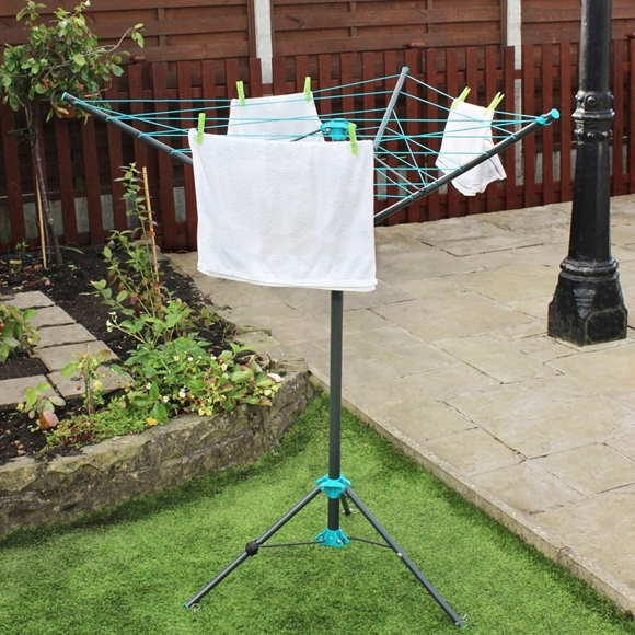Picture of 16M 3 Arm Portable Rotary Airer