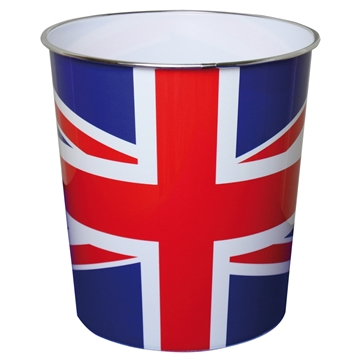 Picture of 9L Union Jack Waste Paper Bin