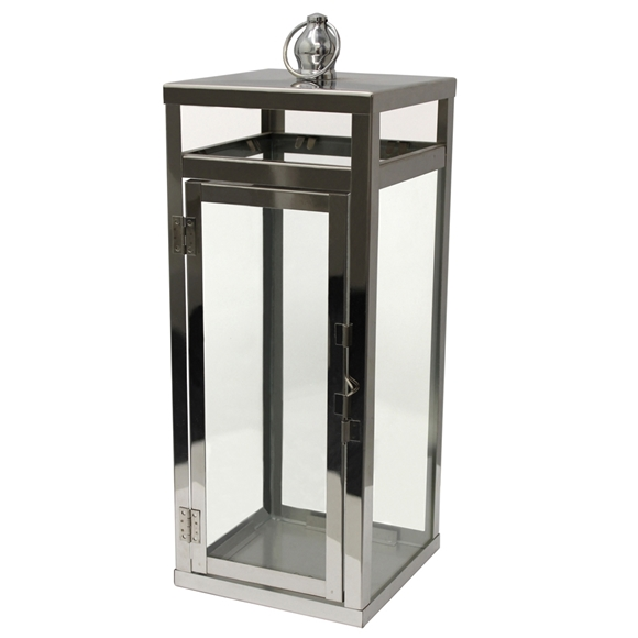 Picture of Medium Stainless Steel Lantern