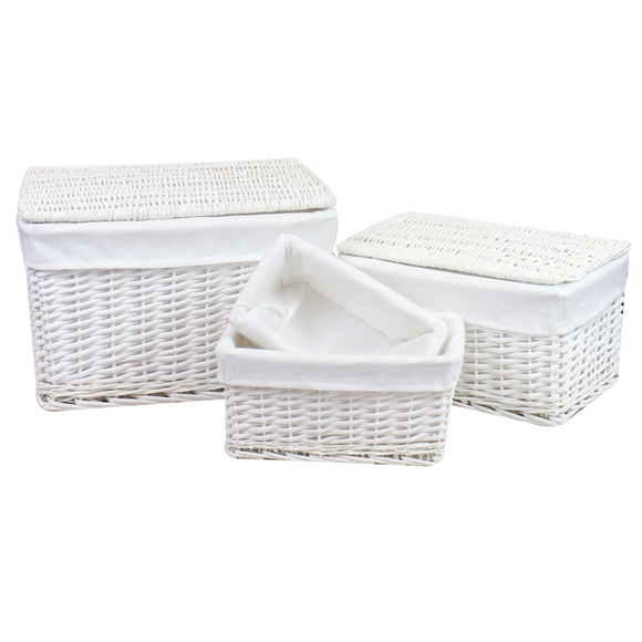 Picture of Willow Hampers and Storage Baskets