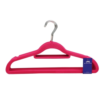 Picture of 10PK Small Soft Touch Clothing Hangers - Pink