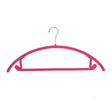 Picture of 20PK Soft Touch Non-Slip Suit Hangers - Pink