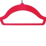 Picture of 100PK Large Soft Touch Clothing Hangers - Pink