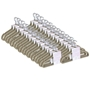 Picture of 200PK Large Soft Touch Clothing Hangers - Beige