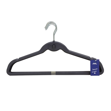 Picture of 20PK Plastic Clothing Hangers - Shadow Blue