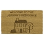 Picture of Personalised Laser Coir - House 40x60cm
